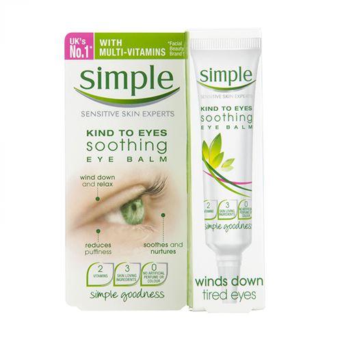 Kem dưỡng trị thâm quầng mắt Simple Kind To Eyes Soothing 15ml