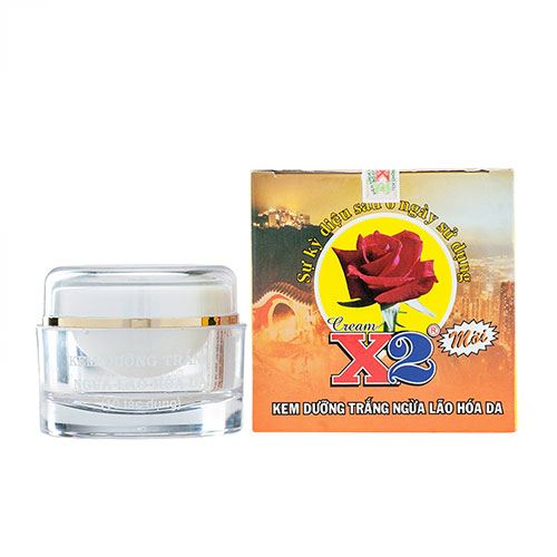 Kem dưỡng trắng da ngừa lão hóa 10 tác dụng X2 30g
