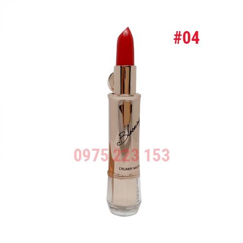 Son thỏi Izle Blooming Creamy Matte mã 04 Rose Red 3.5g - Đỏ Hồng