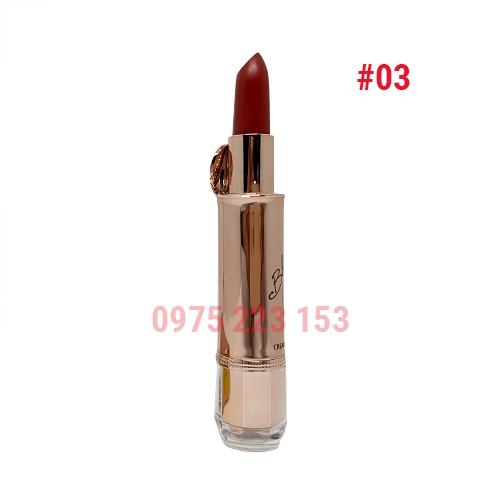 Son thỏi Izle Blooming Creamy Matte mã 03 Sangria Red 3.5g - Đỏ đất
