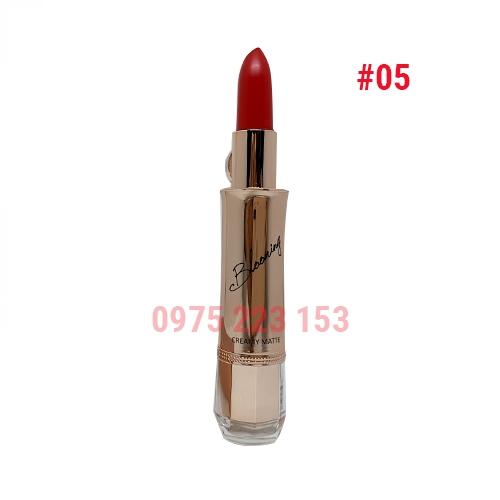 Son thỏi Izle Blooming Creamy Matte mã 05 Crimson Red 3.5g - Đỏ thẫm
