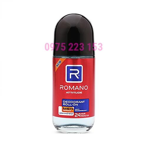Lăn khử mùi hương nước hoa Romano Attitude 50ml
