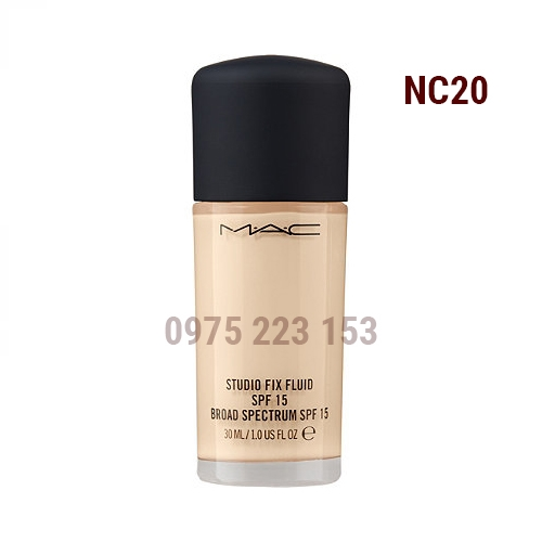 Kem nền Mac Studio Fix Fluid Broad Spectrum SPF15 NC20 30ml