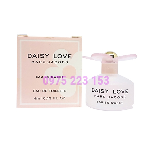 Nước hoa nữ Daisy Love Marc Jacobs Eau So Sweet Eau De Toilette 4ml