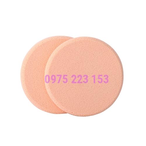 Túi 2 bông phấn ướt tròn nhỏ Vacosi Small Disc Sponge 2pcs - BP03