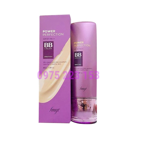 Kem nền The Face Shop Power Perfection BB Cream SPF 37 V201 40gr