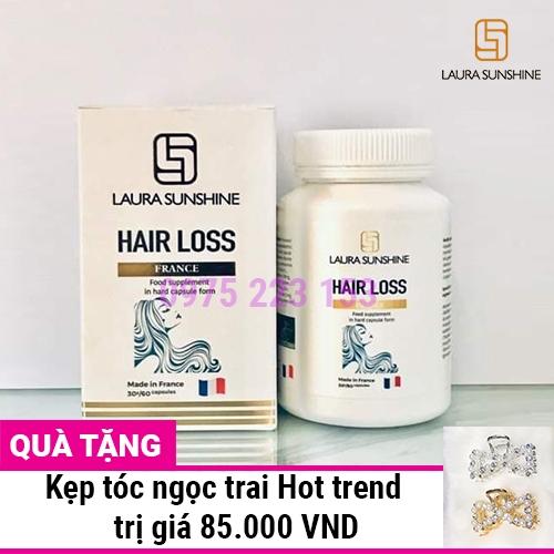 Viên uống mọc đen tóc Laura Sunshine Hair Loss hộp 60 viên