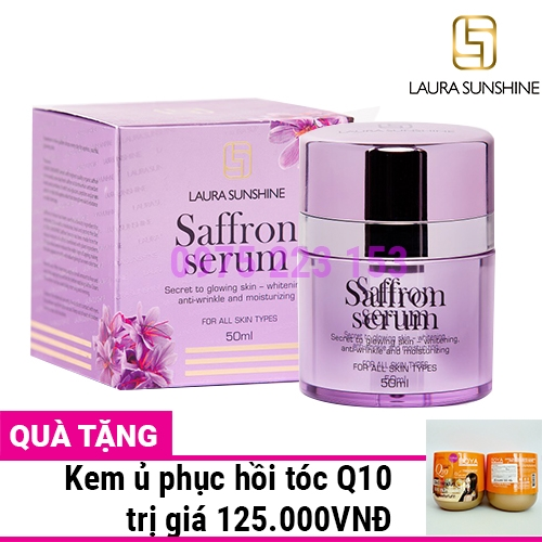 Serum nhụy hoa nghệ tây Laura Sunshine Saffron 50ml