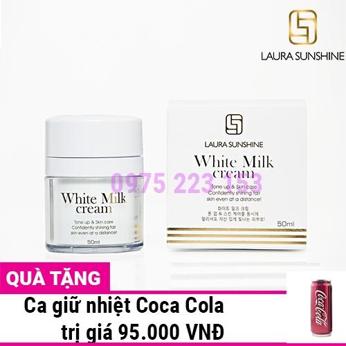 Kem sữa trắng da mặt Laura Sunshine White Milk Cream SPF30 50ml