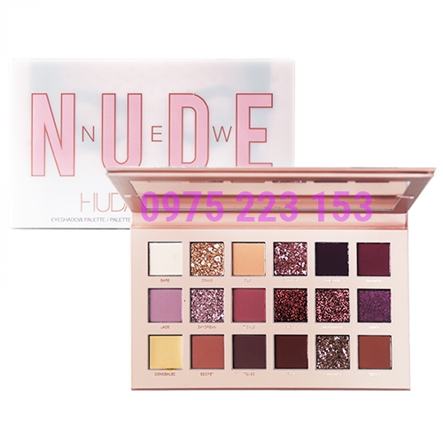 Bảng phấn mắt Huda Beauty Nude New Eyeshadow Palette 19.7g
