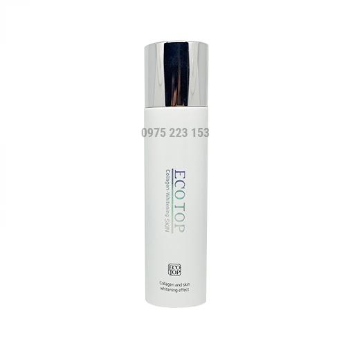 Nước hoa hồng dưỡng trắng da ngừa lão hoá EcoTop Collagen Whitening Skin 150ml