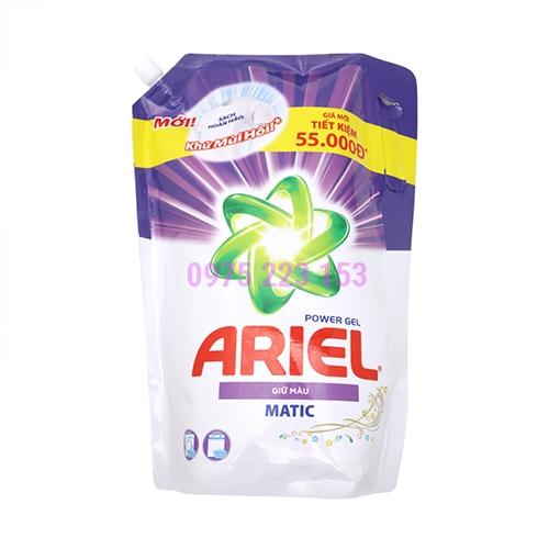 Túi nước giặt Ariel Matic giữ màu 2.15Kg