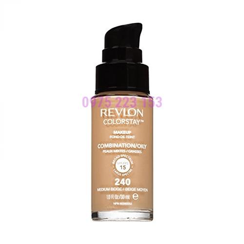 Kem nền Revlon ColorstayMakeup FondDeTeint Combination/Oily MediumBeige 240 30ml