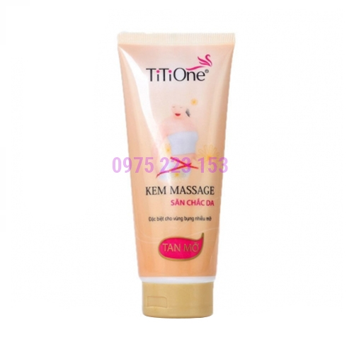 Kem massage tan mỡ Titione 350g