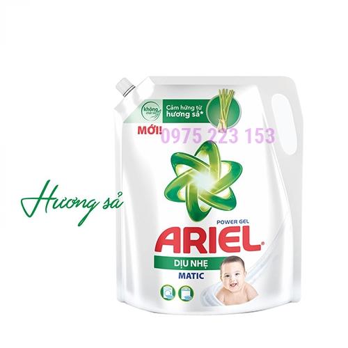 Túi nước giặt Ariel dịu nhẹ cho da nhạy cảm 2lit