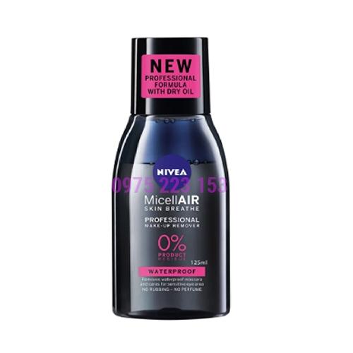 Nước tẩy trang chuyển nghiệp Nivea Micellair Skin Breathe 125ml