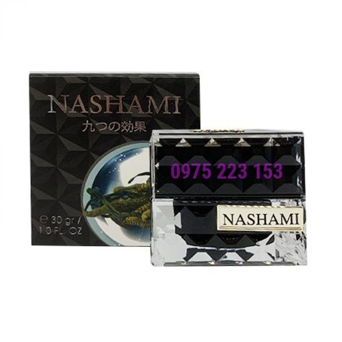 Kem 9 tác dụng trị nám ngừa lão hoá Nashami Đông Trùng Hạ Thảo 30gr