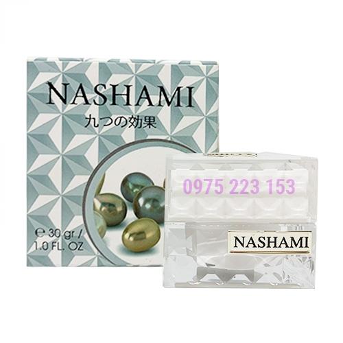 Kem trị nám 9 tác dụng dưỡng trắng da ngừa lão hoá Nashami Ngọc Trai 30gr