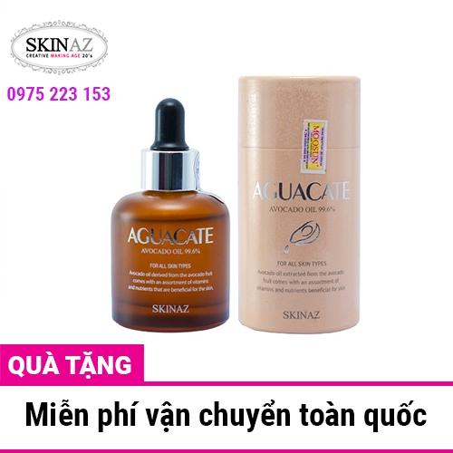 Tinh chất bơ dưỡng da cao cấp Aguacate 99.6% Skinaz 30ml