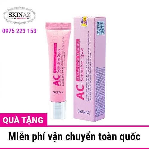 Serum phục hồi da mụn thâm AC Skinaz Sensitive Spot 15ml