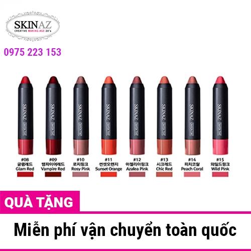 Son môi bút chì Skinaz Crayon Tint Hàn Quốc 2.7g