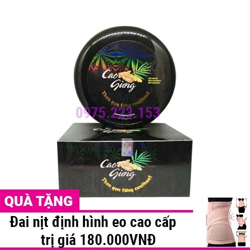 Cao Gừng tan mỡ Thiên Nhiên Việt 200g
