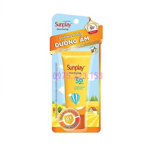 Kem chống nắng dưỡng ẩm da Sunplay Out Going  SPF50+PA+++ 30g