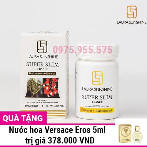 Viên uống giảm cân Laura Sunshine Super Slim - Nhật Kim Anh