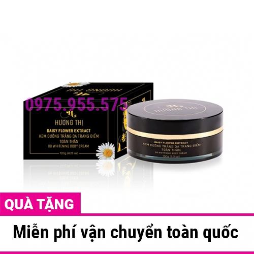 Kem dưỡng trắng trang điểm toàn thân Hương Thị BB Whitening Body 120g