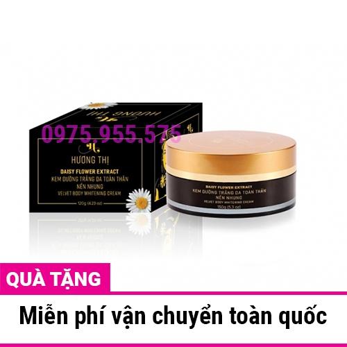 Kem dưỡng trắng toàn thân nền nhung Hương Thị Velvet Whitening 120g