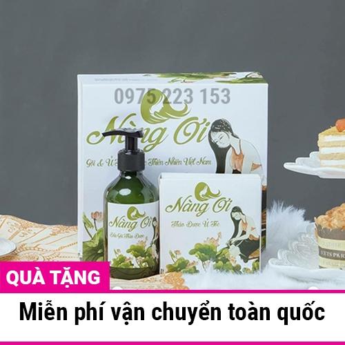 Bộ dầu gội thảo dược Nàng Ơi Thiên Nhiên Việt