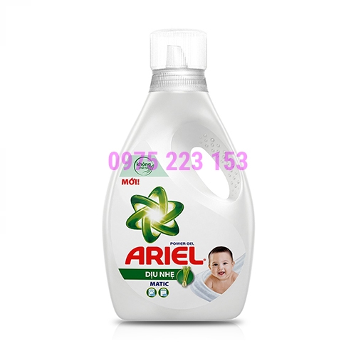 Nước giặt Ariel dịu nhẹ cho da nhạy cảm 2.3lit