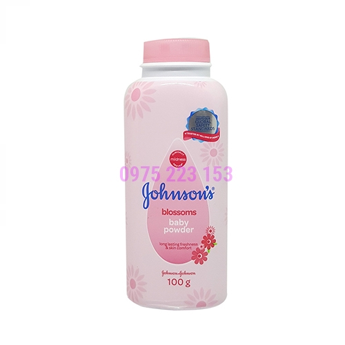 Phấn thơm em bé Johnsons Baby Power 100g