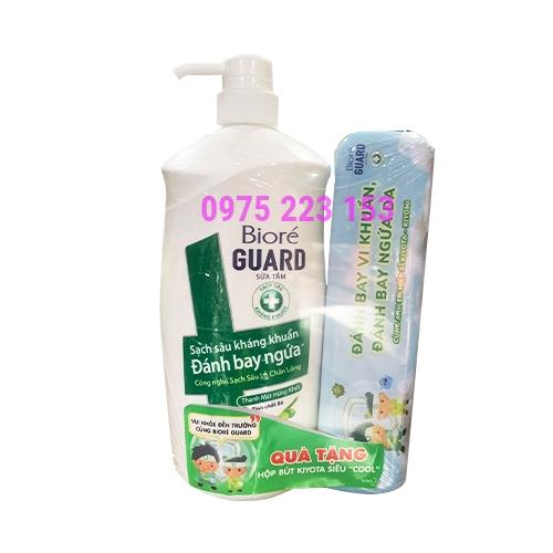 Sữa tắm mịn da và kháng khuẩn thanh mát từ thiên nhiên Biore 800g
