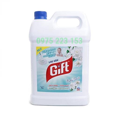 Nước lau sàn Gift Hương Hoa Thiên Nhiên 3.8kg