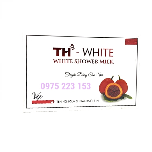 Tắm trắng toàn thân TH White White Shower Milk 150g