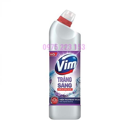 Gel tẩy rửa bồn cầu nhà tắm Vim Hương Oải Hương 880ml