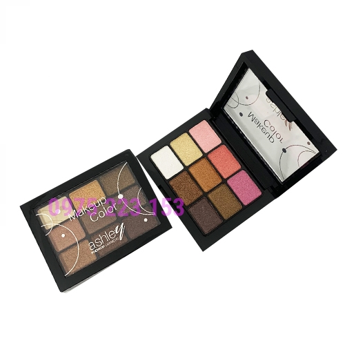 Phấn mắt 9 ô Ashley Makeup Color Premium Cosmetic A270