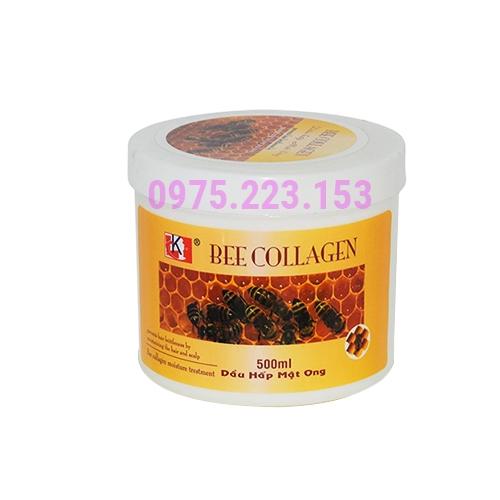 Dầu hấp dưỡng tóc Mật Ong Bee Colagen Repair Hair Treatment 500ml