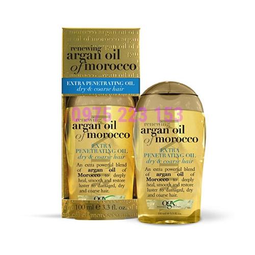 Serum dưỡng phục hồi tóc hư tổn Ogx Argan Oil Of Morocco 100ml