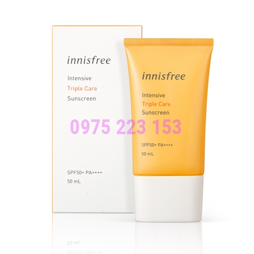 Kem chống nắng Innisfree Intensive Triple Care Sunscreen SPF50 50ml