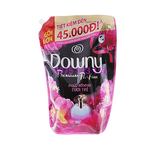 Túi nước xả vải hương nước hoa Downy tươi trẻ 2.4lit