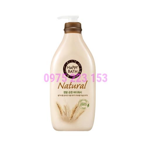 Sữa tắm dưỡng da tinh chất gạo Happy Bath Natural Mild 900g