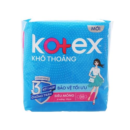 Băng vệ sinh Kotex Style siêu mỏng cánh 23cm 8 miếng