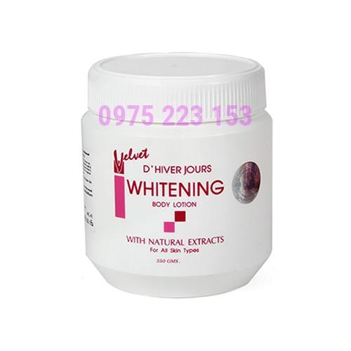 Kem dưỡng trắng da toàn thân Whitening Body DHiver Jours 350ml