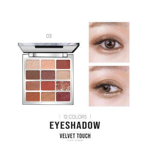 Phấn mắt 12 màu Velvet Touch Nee Cara Eyeshadow 03 1.5g