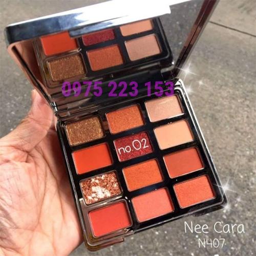 Phấn mắt 12 màu Velvet Touch Nee Cara Eyeshadow 02 1.5g