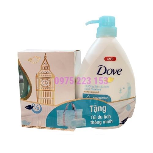 Sữa tắm dưỡng thể dưỡng ẩm dịu mát Dove Aqua Moisture 530g