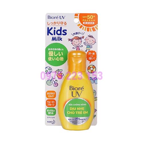 Sữa chống nắng dàng cho trẻ em Biore SPF 50+ PA++++ 90g