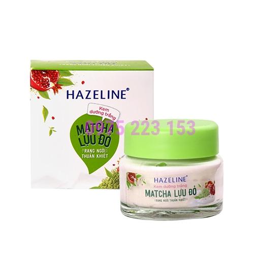 Kem dưỡng trắng da Hazeline Matcha Lựu Đỏ 45g